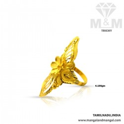 Prettiness Gold Fancy Ring