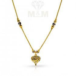 Historical Gold Fancy Dollar Chain