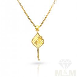 Great Gold Fancy Dollar Chain