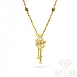 Subtle Gold Fancy Dollar Chain