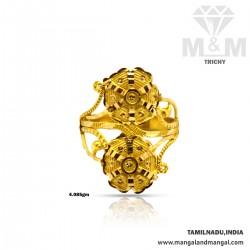 Pleasantness Gold Fancy Ring