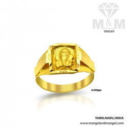 Memorable Gold Fancy Baby Ring
