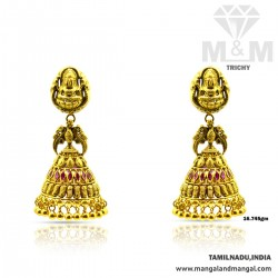 Niceness Gold Antique Earring