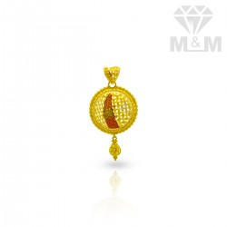 Classical Gold Fancy Pendant