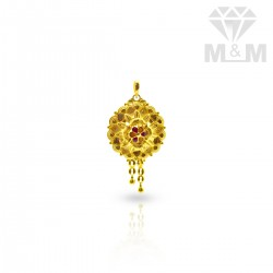 Charming Gold Fancy Pendant