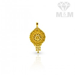 Picturesque Gold Fancy Pendant