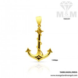 Prettiest Gold Anchor...
