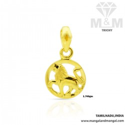 Tranquil Gold Lion Casting...