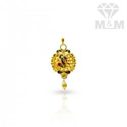 Stylish Gold Peacock Pendant