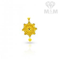 Scenic Gold Fancy Pendant