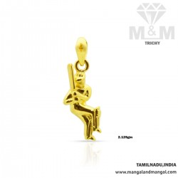 Luxurious Gold Sport Charm Men's Casting Pendant