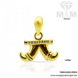 Charismatic Gold Tiger Nail...