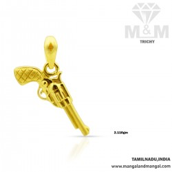 Amiably Gold Casting Pendant