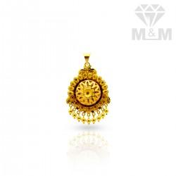 Exotic Gold Fancy Pendant