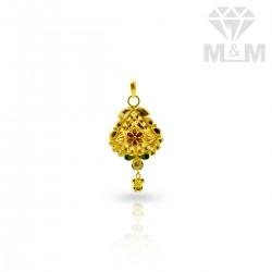 Exemplary Gold Fancy Pendant