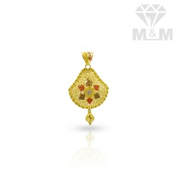 Ethereal Gold Fancy Pendant