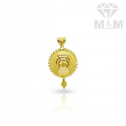 Majestic Gold Fancy Pendant