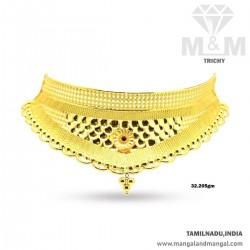 Treasured Gold Women Flower Necklace