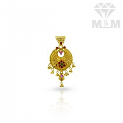 Seductive Gold Fancy Pendant