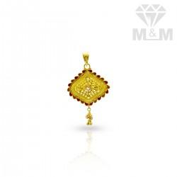 Pleasing Gold Fancy Pendant