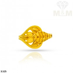 Snazzy Gold Casting Ring