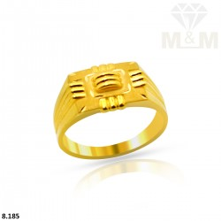 Sumptuous Gold Casting Ring