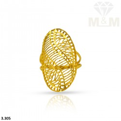 Inspirational Gold Fancy Ring