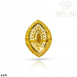 Dramatic Gold Fancy Ring
