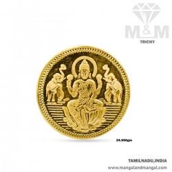24 Gram 916 Gold Coin