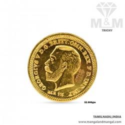 32 Gram 916 Gold Coin