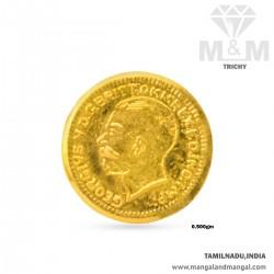 0.500 Gram 916 Gold Coin