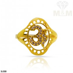 Exemplary Gold Fancy Ring