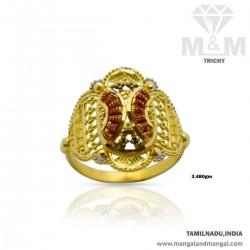 Amiable Gold Women Fancy Ring
