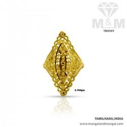 Popular Gold Women Fancy Ring