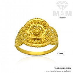 Enthral Gold Women Fancy Ring