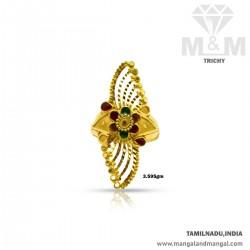 Modern Gold Women Fancy Ring