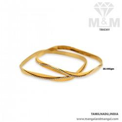 Exquiste Gold Women Rhodium Bangle
