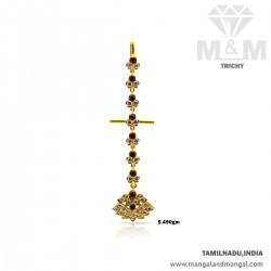 Alluring Gold Women Stone...
