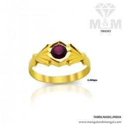Exquisite Gold Men Stone...