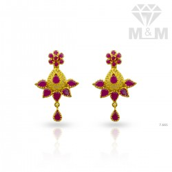 Memorable Gold Fancy Earring