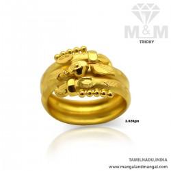 Sweetest Gold Women Fancy Ring