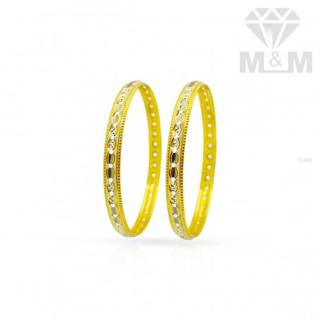 Fabled Gold Fancy Bangle