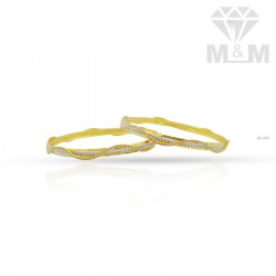 Flamboyant Gold Fancy Bangle