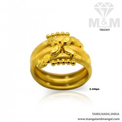 Blessed Gold Women Fancy Ring