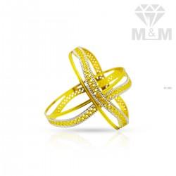 Jazziest Gold Rhodium Bangle