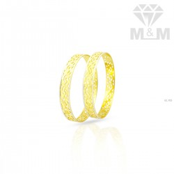 Masterful Gold Rhodium Bangle