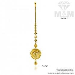 Nice Gold Women Fancy Nethi...