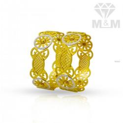 Classy Gold Rhodium Bangle