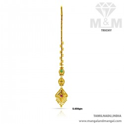 Serene Gold Women Fancy Nethi Chutti