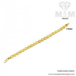 Nicest Gold Men Fancy Bracelet
